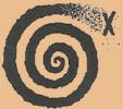 Spiral X gul
